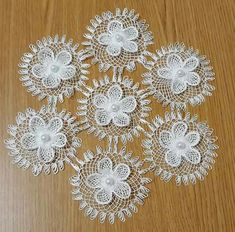 Aldona's media content and analytics American Threads, Point Lace, Needle Lace, Crochet Doilies, Sewing Crafts, Diy And Crafts, Crochet Patterns, Home Decor, Tela