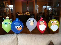 Mommy by day. Mighty hero by night.: Angry Birds Birthday Party, also cute bird food idea