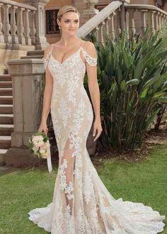 6150a3427ffc3 2324 Zola, Casablanca Bridal Formal Dresses, Wedding Dresses, Simple  Weddings, Ball Gowns