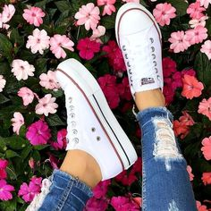 Sneaker Outfits, Converse Outfits, Converse Sneaker, Converse Style, Converse All Star, Converse Shoes, Cute Converse, Boot Outfits, Girl Outfits