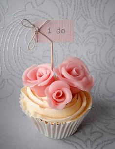 11 Classy Cupcakes For A Wedding