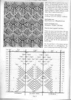 shetland lace stitches - Αναζήτηση Google