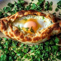Adjarian Khachapuri - Rich Cheese filled Bread Boat topped with an Egg @pomegranatesobaka  #food #yum #instafood #yummy #amazing #instagood #photooftheday #sweet #dinner #lunch #breakfast #fresh #tasty #food #delish #delicious #eating #foodpic #foodpics #eat #hungry #foodgasm #foodporn #hot #foods #beautifulcuisines #foodie #ocfoodies #bonappetit #georgian  #sandiego by @wandering_palate