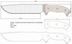 Чертежи ножей для изготовления. Часть 2 | LastDay Club image 91
