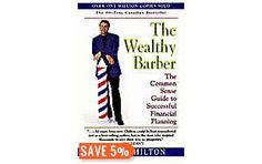 The Wealthy Barber.  One of the best financial books I have ever read.  I read this back in University, and now more than a decade later I can tell you that the principles, if applied, will work for you.