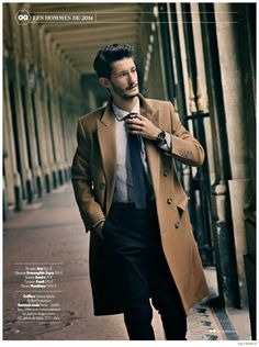 Yves Saint Laurent Star Pierre Niney Goes Sartorial for GQ France December 2014 Photo Shoot image Pierre Niney GQ France December 2014 Photo Shoot 001 800x1072