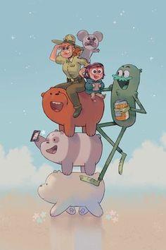 War ein Knaller - we bare bears ⭐ - Cartoon Cartoon Cartoon, Cartoon Shows, Cartoon Ideas, Ice Bear We Bare Bears, We Bear, Bear Wallpaper, Disney Wallpaper, Desenhos Cartoon Network, We Bare Bears Wallpapers