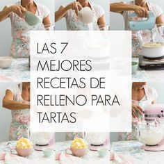 Cocina – Recetas y Consejos Sweet Recipes, Cake Recipes, Dessert Recipes, Fondant Cakes, Cupcake Cakes, Cake Fillings, Sweets Cake, Baking Tips, Mini Cakes