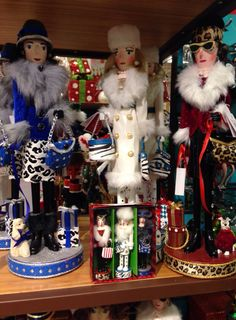 Nutcrackers love them!!! Pier 1 with matching mini tree counterparts - Nutcrackers love them!!! Pier 1