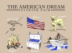 'American Dream Starter Pack' Tee – United Clothing Company