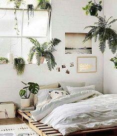 Inspiring Plants Ideas In Bedroom Decor17