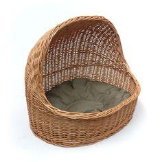 wicker dog beds | Wicker Cat Dog Bed House - Prestige Wicker