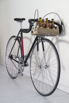 Vélo / bike Single Speed Caisse Bière / Beer Bicycle, Culture, Vehicles, Crate, Bike, Bicycle Kick, Bicycles, Car, Vehicle
