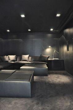 Luxury Living a neat basement idea
