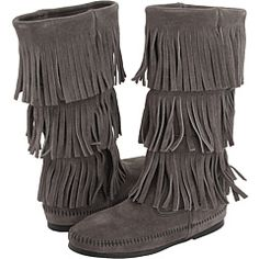 I have 6 pairs of Minnetonkas, ranging from knee-high boots to little loafer moccasins.  I started buying in 2005, and I am a woman obsessed.  They are great because, as a woman who only wears flat shoes, it's difficult to find totally flat shoes that don't irritate my heels or ankles.  These are perfect.  I've never had a problem with my Minnetonkas.  I've set my sites on these next.