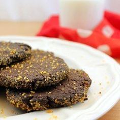 Coffee and orange cookies (in Polish)