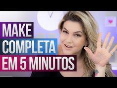 MAQUIAGEM COMPLETA EM 5 MINUTOS   Alice Salazar