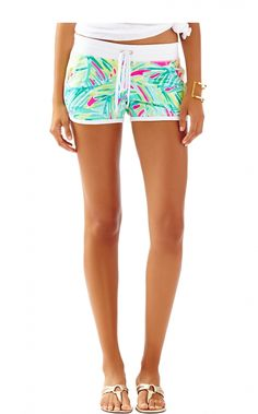 Chrissy Short In Tropical Storm, Tropical Pink [PREORDER FOR AFTER 11/23/15]