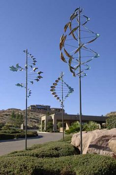 Fabulous wind sculptures by Lyman Whitaker