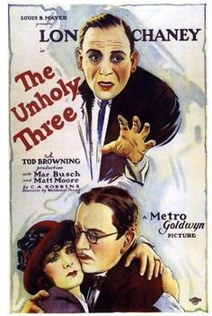 Mae Busch, Lon Chaney, and Matt Moore in The Unholy Three (1925)