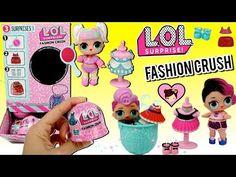 Fashion Crush opened blind pack Athletic Club Baby F-012 Eye Spy LOL Surprise
