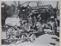 SOC-ECON The safety features of the Model T were abysmal. The automobile featured pane glass and a rigid steering column. Car accidents commonly featured severe lacerations to the driver caused by the front windscreen, and impalement to the face or torso caused by the rigid steering column. Horrific injuries such as these spurred automakers to consider crash scenarios. In 1930, shortly after the discontinuation of the Model T, laminated glass was finally applied by Ford to its automobiles.