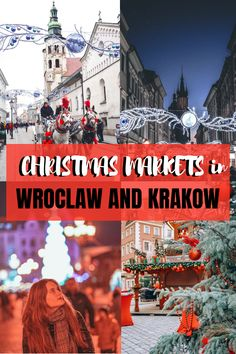 Weekend in Poland Christmas Markets in Poland Wroclaw Krakow Poland in December Travel Vacation List Holiday Tour Trip Destinations Christmas In Europe, Christmas Travel, Christmas Markets, Holiday Travel, Camping Holiday, Christmas 2019, Europe Travel Guide, Travel Destinations, Christmas Destinations