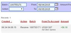 New withdrawal proof from ACX  I work less then 10 minutes a day and my online income is bigger and bigger. Here is one more withdrawal proof from ACX that they are paying daily. It is great program for online income seekers and for those who wants to make money online.