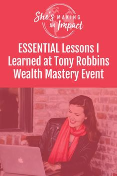 In this post, I share my experience at Tony Robbins event, Wealth Mastery. We talk money mindset, success, goals, quotes, and of course, what changes I'll make moving forward. If you've never been to a Tony Robbins event, you definitely need to go. Repin and grab my free cheat sheet to get more leads using Pinterest! #mindset #entrepreneur #girlboss #moneymindset  via @RachelNgom Business Marketing, Online Marketing, Social Media Marketing, Business Profile, Business Tips, Business Quotes, Entrepreneur, Successful Online Businesses, Successful Women