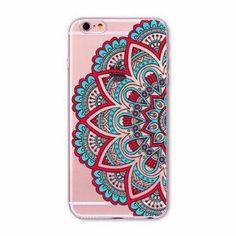 Turquoise Mandala Boho Case for iPhone 5 5s SE 6 6s