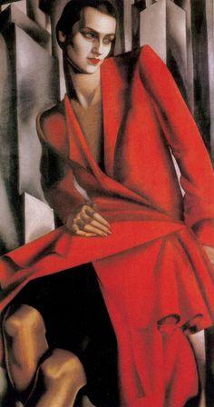 Tamara de Lempicka - Portrait of Mrs Bush