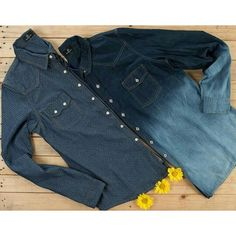 Camisa jeans Banana Café #inlove #musthave ♡  《 Jeans w/ Poá || Jeans Tye Dye 》  #weloveit #news #trend #winter15 #provadorfashion #euqueroo #imperdīvel #inverno15