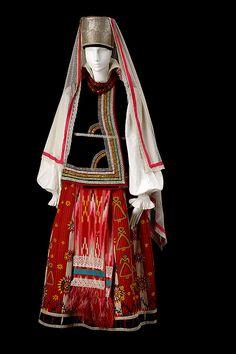 """""""le costume populaire russe"""" Русскому костюм XVIII-XIX вв. Тамбовская губерния."""