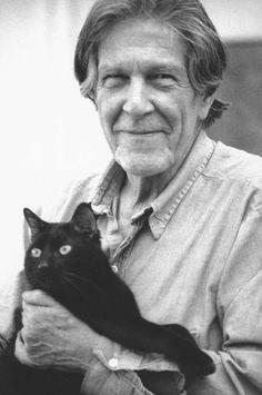 John Cage et son chat