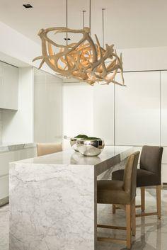 different antler chandelier/ WY
