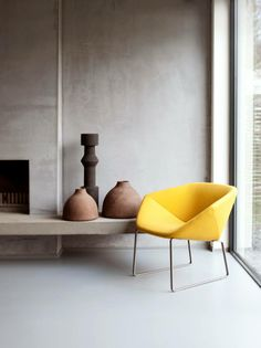 A spot of #yellow does a world of good, don't you think?! #urban #awesome #decor