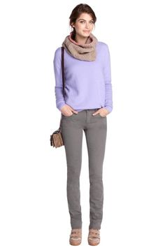 Esprit Holiday 2013-2014 Women's Knitwear  Theme: Different Styles Yet the Same Outlook