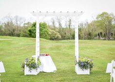 Ceremony Pergola at Plymouth Country Club Plymouth, Pergola, Club, Weddings, Table Decorations, Country, Rural Area, Outdoor Pergola, Wedding