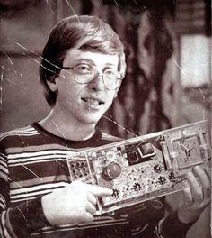 Celebrities Through History Bill Gates Steve Jobs, Steve Wozniak, Micro Computer, Computer Technology, Apple Ii, Barack Obama, Heroic Age, Seattle, Old Computers