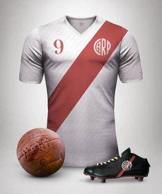 36c3dcc6df Vintage Football  Conheça camisas clássicas criadas por designer argentino