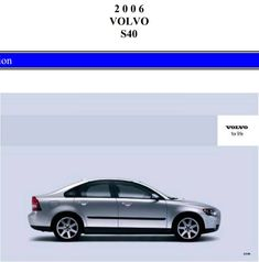 2006 volvo s40 owners manual pdf