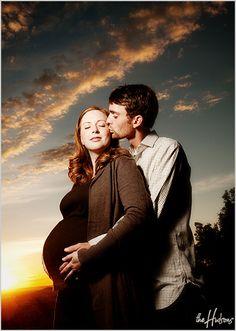 Sunset maternity portrait by Jason - Gorgeous!