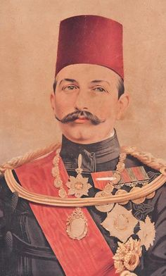Abbas Hilmi Pasha, last Ottoman Khedive (Viceroy) of Egypt. He ruled from 8 January 1892 to 19 December Old Egypt, Cairo Egypt, President Of Egypt, Modern Egypt, Armenian Culture, Turkish People, War Photography, World War One, Modern History