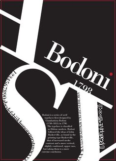 Bodoni I like how bold and eye-catching it is.