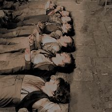Gotta love the Barricade Boys snapping their fingers and singing jazz songs while pretending to be dead