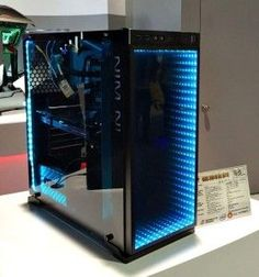 In Win is known for its metal-and-glass enclosures for enthusiasts, and it was showing off its latest kit at CES but it is their infinity mirror packing 605 that has really caught my eye.The sides of the 605 are In Win's traditional glass, mounted to a metal frame. The fancy ... https://www.djpeter.co.za