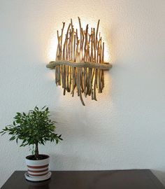 It's incredible how many wonderful things that you can do with driftwood. Some more elaborate items may also be made using driftwood. Driftwood may be used for a selection of things. Driftwood Furniture, Driftwood Lamp, Driftwood Crafts, Diy Furniture, Furniture Design, Furniture Stores, Driftwood Ideas, Furniture Dolly, Furniture Movers