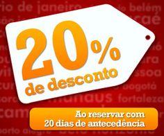 Aproveite a super promoção Ibis Accor e reserve seu hotel com 20 dias de antecedência e garanta um desconto de 20%.