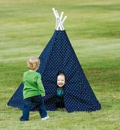 Terrific Teepees Pattern Download from ConnectingThreads.com Quilting by SewBaby, Inc