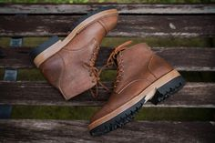 Junkard SC2078 - Roughout Waxed Cooper Brown boots by /r/goodyearwelt user shiroang